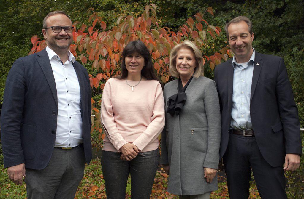 Gruppenbild des Stiftungsvorstandes
